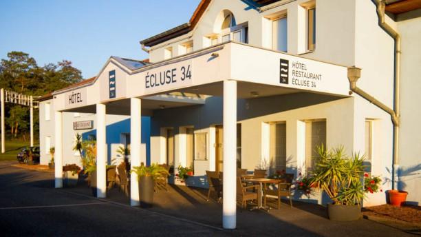 Hôtel - Restaurant Écluse 34 Entrée du Restaurant