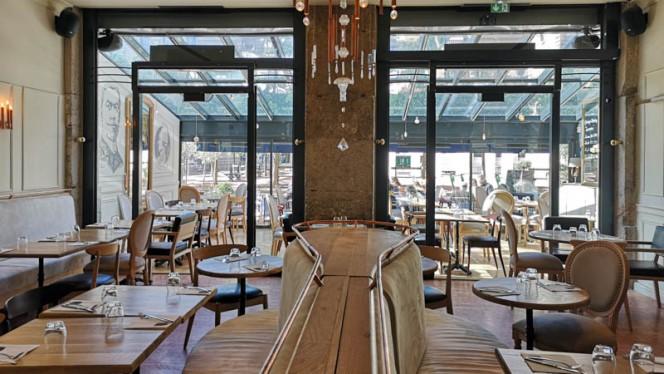 Salle du restaurant - Le Café Français, Lyon