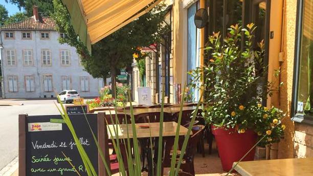 Café des Sports Terrasse