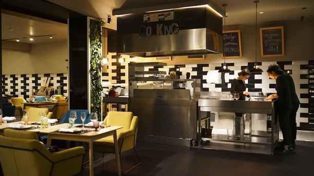 Akademia - Open Kitchen Restaurant in UNAHOTELS ONE Veduta dell interno