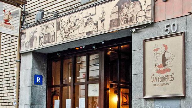 Can Punyetes - Bonanova fachada del restaurante