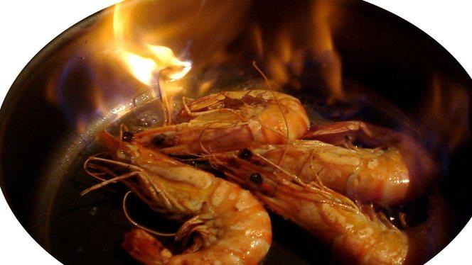 GAMBAS FLAMBEES - Remember,