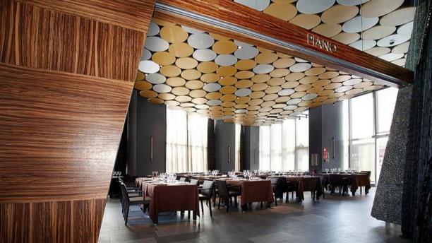 Piano - Hotel Silken Diagonal Barcelona Vista de la sala