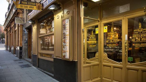 Chocolatería de la Puerta del Sol Fachada