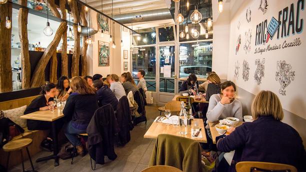 Fric frac restaurant 79 quai de valmy 75010 paris adresse horaire - Restaurant quai de valmy ...