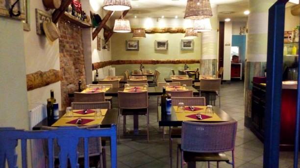 Luna Rossa Navigli Sala del ristorante