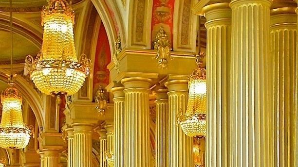 Café Opera Détail de la décoration