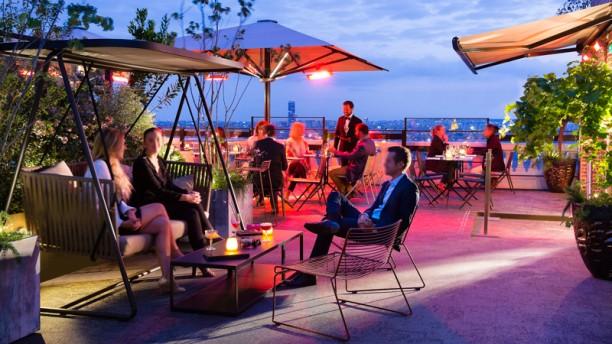 Terrass'' Restaurant Apreçu de la terrasse