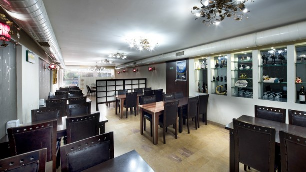 Tebek Korean dining room