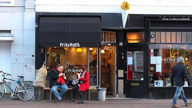 Friethoes Het restaurant