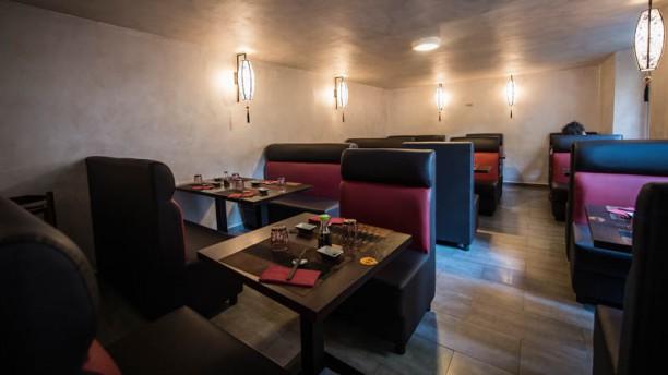 Gru Japanese Restaurant Vista sala