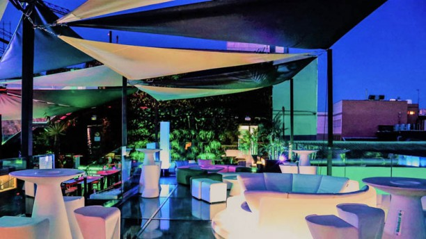 Terraza Skyline Lounge In Madrid Restaurant Reviews Menu