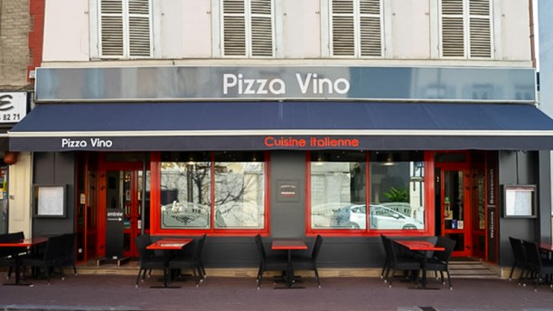 Pizza Vino Devanture