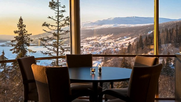 Thyras Matsal @ Tott Åre Tables with amazing views