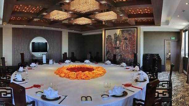 huatian chinagora table dresse - Chinagora Mariage
