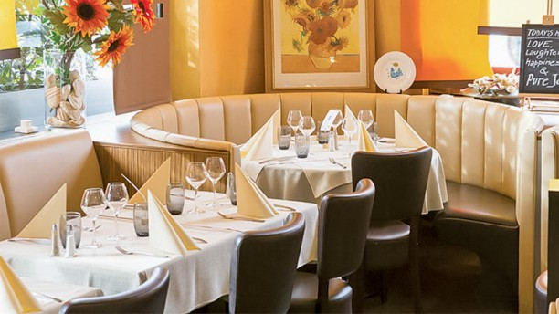 Il Girasole Salle du restaurant