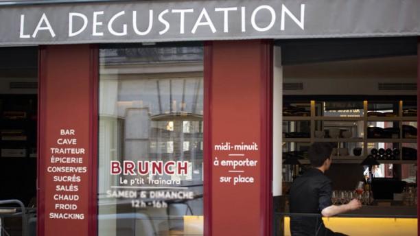 La Dégustation - Champagnes & Delicatessen Façade