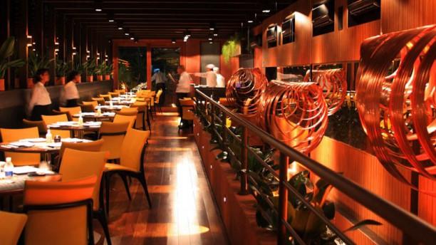 Kappa Sushi Bar Vista da sala