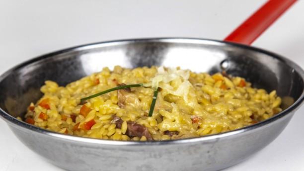 Macadamia risotto de boletus, foie y parmesano