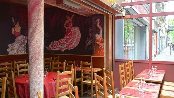 Casa de Espana Vue de la salle du restaurant