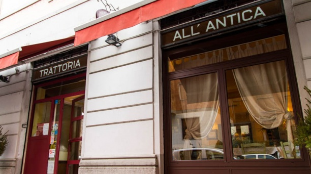 Trattoria all'Antica Esteriore