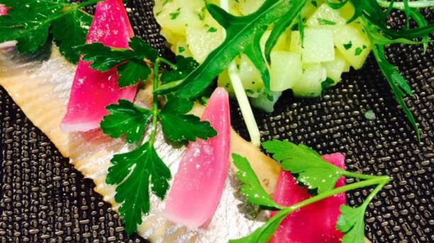 L'Aubergade Filet de hareng et salade tiède