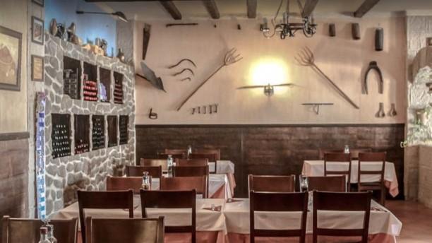 Restaurante La Cornisa Vue de la salle