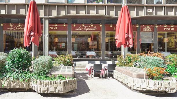 La Tagliatella Orense Vista terraza