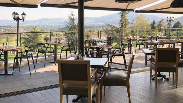 Restaurant du Domaine Saint-Clair Vue de la salle