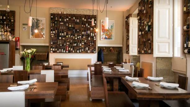 Café de Altamira - Hotel Pazo De Altamira Vista del interior