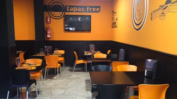 Tapas Free Carabanchel Vista sala