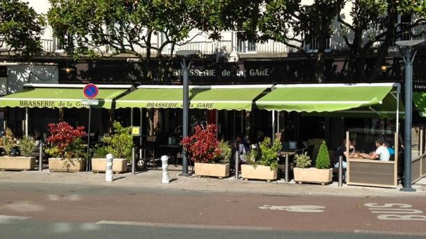 Brasserie de la gare Vue de la terrasse