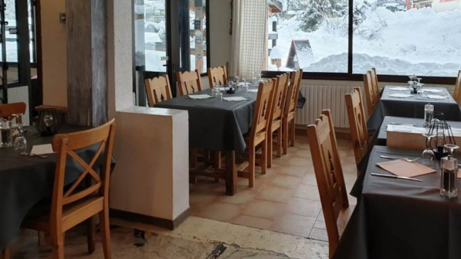L 'Ours Blanc - Restaurant - Allos