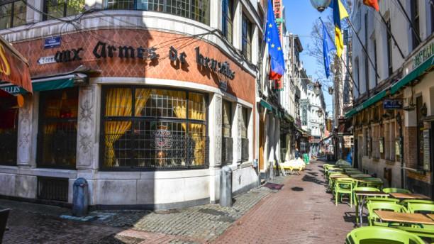 Aux Armes de Bruxelles Vue extérieure