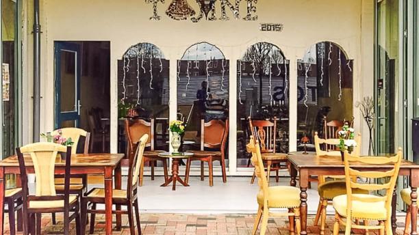 Tajine Marokkaans Restaurant Terras