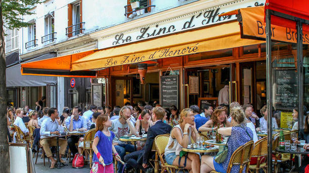 Restaurant le zinc d 39 honor paris 75001 palais royal - Cuisine et confidences place du marche saint honore ...