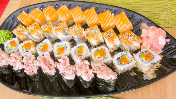 Japonés Umai Sugerencia del chef