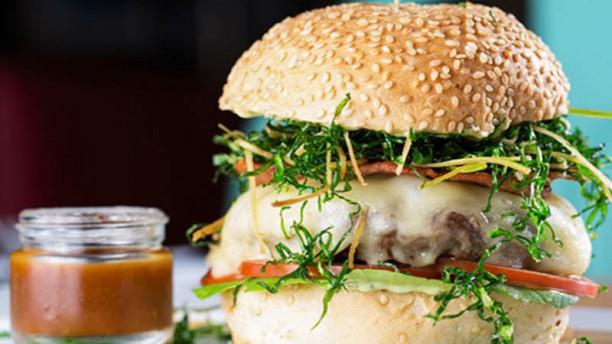 Beach Burger Sugestão prato