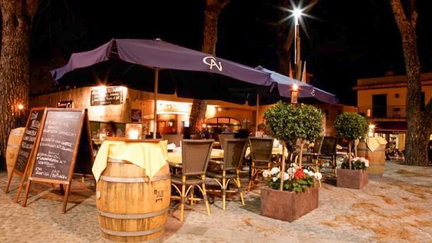 Grill&Tapas Ca Nostra terraza