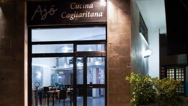 Ristorante Ajò Cucina Cagliaritana La entrata