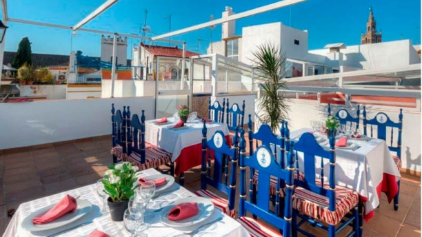 La Hostería de Doña Lina Vista terraza