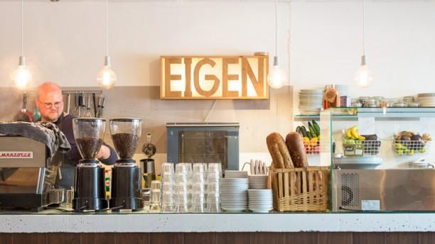 Eigen Café Het restaurant