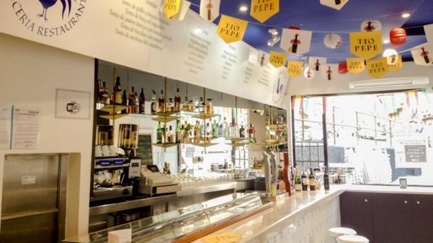 Gallo Azul Cervecería Restaurante Barra
