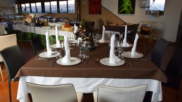 Sunset Restaurant Vista sala