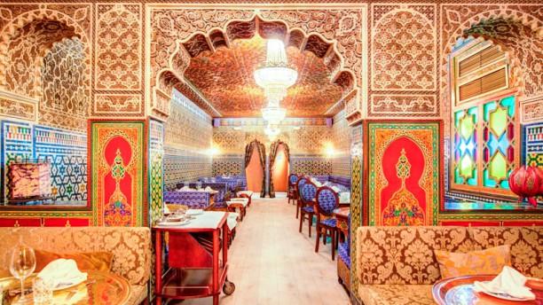 Al - Mounia Vista del interior