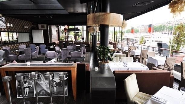 Restaurant la plage parisienne paris 15 me la motte picquet grenelle menu avis prix et - Port de javel haut 75015 paris ...