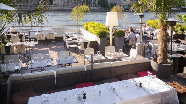 restaurant la plage parisienne paris 75015 la motte. Black Bedroom Furniture Sets. Home Design Ideas