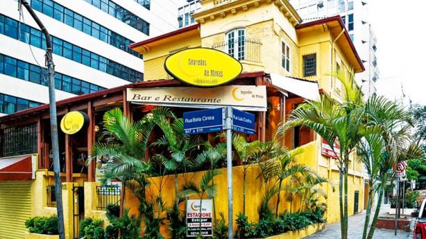 Segredos de Minas I fachada do restaurante - Segredos de Minas I
