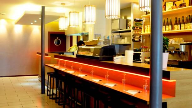 Sushi Bar vue intérieur