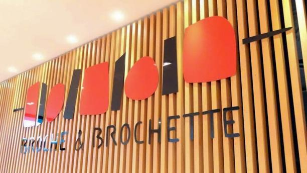 Broche et Brochette Détail Salle